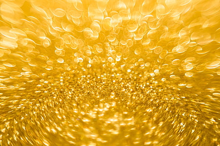 Tiivistelmä, kultaa, keltainen, Bokeh, Blur, kullan keltainen, kullan värinen