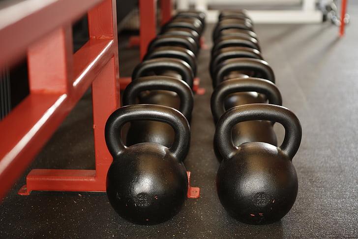 Sports, spēkā, svars, hantele, apmācības, trenažieru zāle, ķermeņa celtnieks