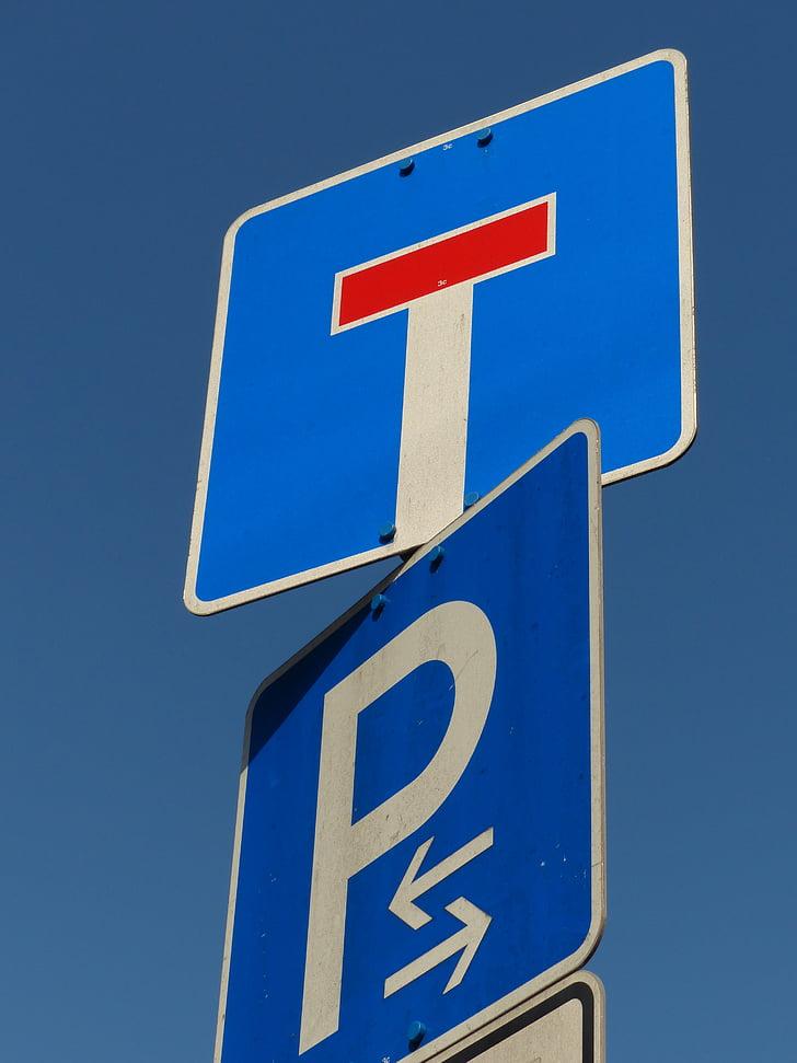 vairogs, satiksmes zīmes, ielu zīmes, ceļu satiksmes noteikumus, beidzās strupceļā., parks, parka zonā