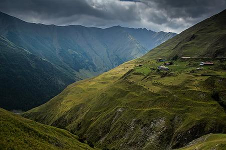 grama, paisagem, montanha, natureza, ao ar livre, cênica, scenics