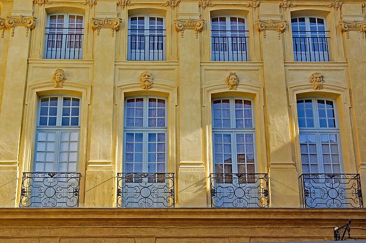 França, AIS de Provença, Provença, edifici, arquitectura, històric, finestra
