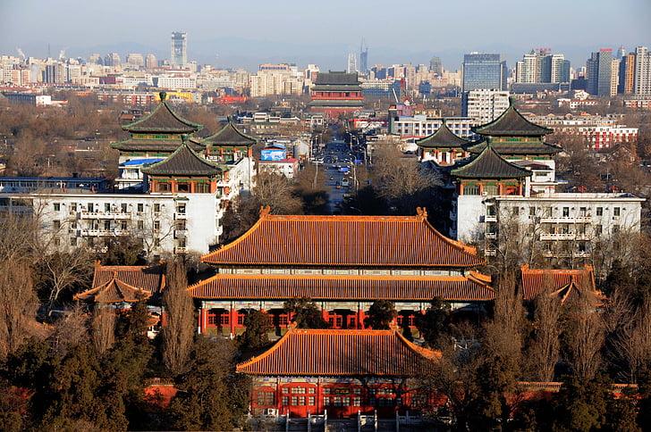 beijing, china, the scenery, silhouette, china wind