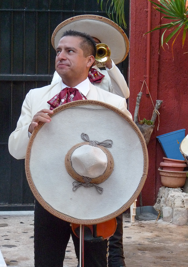 Mexico, mariachis, nhạc sĩ, mũ, Sombrero, âm nhạc, nhạc sĩ