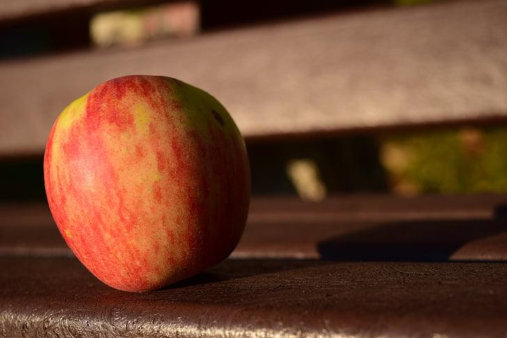 Apple, Pank, Sulgege, terve, vitamiinid, punane, küps