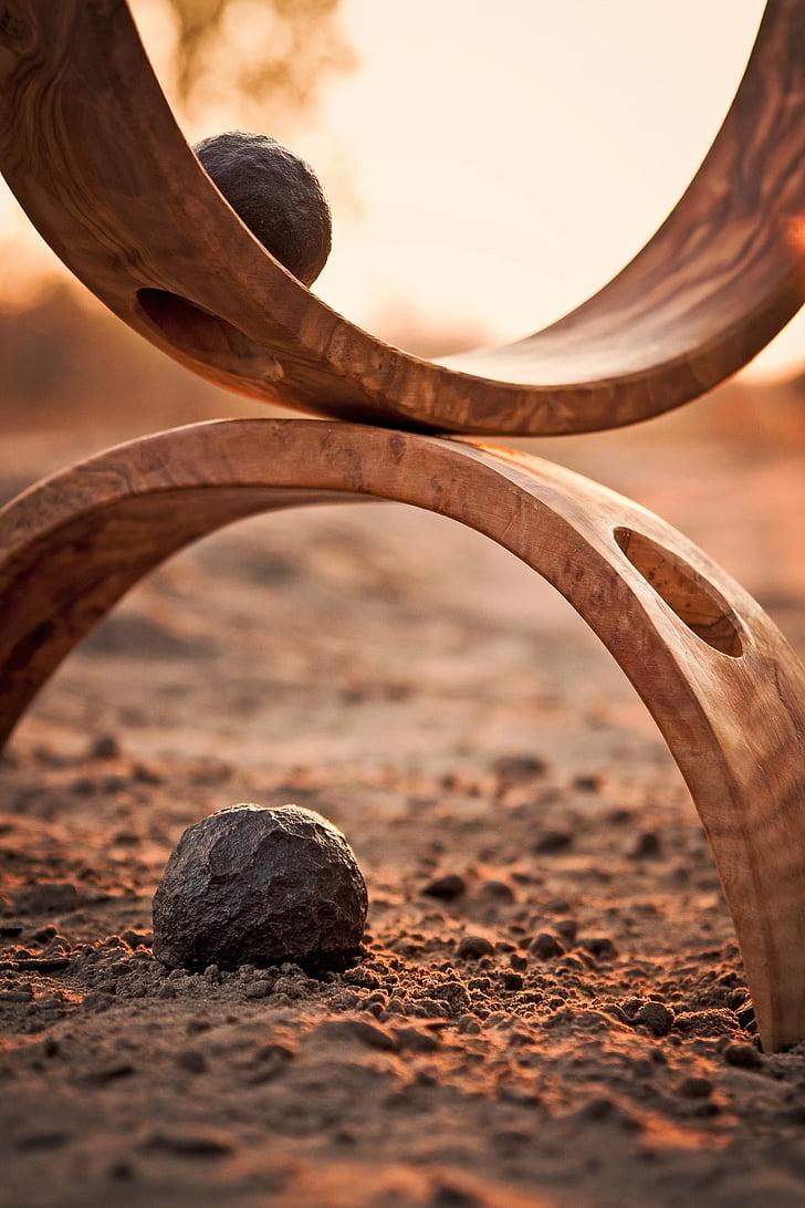 harmonia, relaxar-se, Roca, Moqui, pedra, natura, meditació