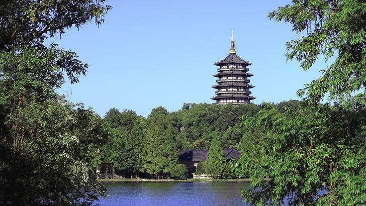 Foto gratis: Guilin, Menara Kembar Matahari dan bulan, pagoda Shwedagon  pagoda perak, Danau Cedar | Hippopx