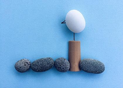 Rock, nghệ thuật, thủ công, chim mòng biển, tôi à?, Đại dương, trong nhà