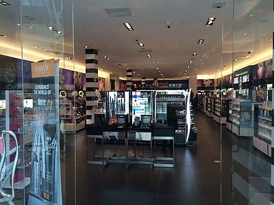 Sephora, compres, botiga, maquillatge, cosmètica, centre comercial, bellesa