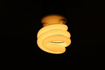 Sparlampe, Glühbirnen, Lampe, Beleuchtung, Energiesparlampe, Glühbirne, Licht-equipment