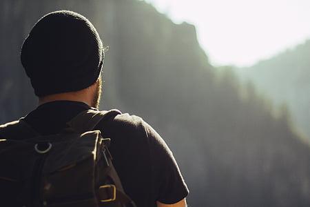 pěší turistika, Treking, hory, batoh, Turismus, Příroda, cestování