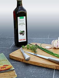 kruiden, rozemarijn, prei, bieslook, knoflook, Spice, voedsel