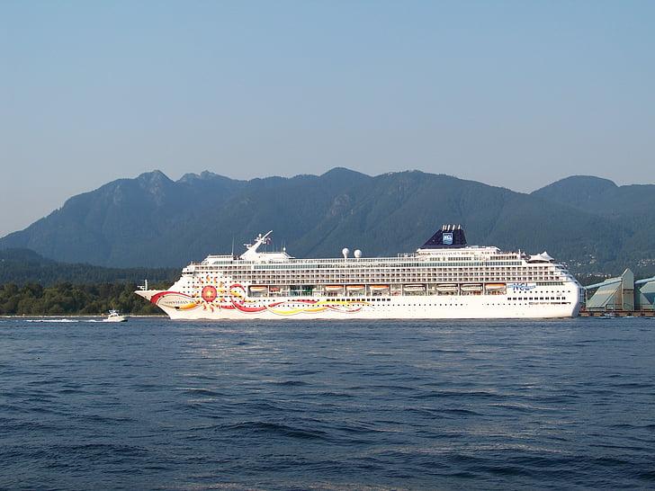 kryssning, kryssningsfartyg, norska cruise, Ocean, resor, Voyage