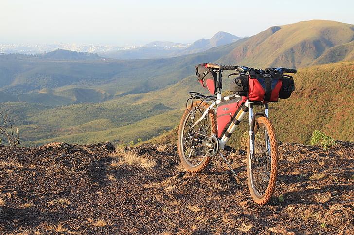 bicicleta embalagem northpak, ciclo turismo, bicicleta, montanha, aventura, natureza, bicicleta