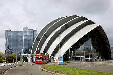 edifici, vidre, forma, arquitectura, disseny, moderna, construcció