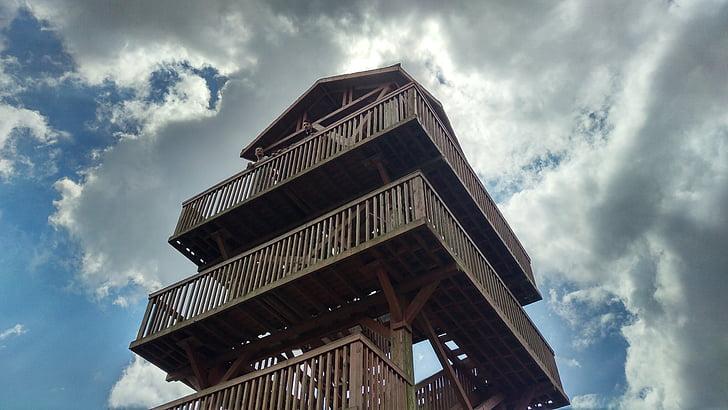 bokštas, dangus, Debesis, gyvenimas, kvėpavimas, Architektūra, Garsios vietos