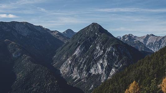 krajobraz, pasmo górskie, góry, Natura, na zewnątrz, Góry Skaliste, sceniczny