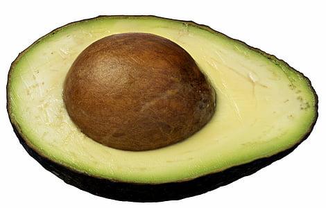 αβοκάντο, κομμένο σε φέτες, υγιεινή, φρέσκο, τροφίμων, συστατικό, RAW