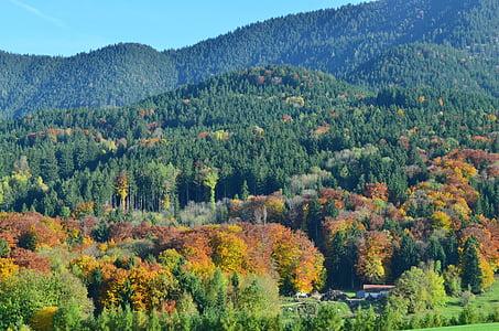 mountains, autumn, landscape