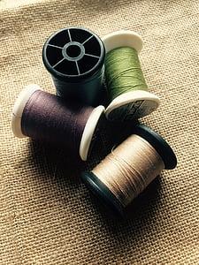 cloth, fabric, thread, no people, indoors, studio shot, close-up