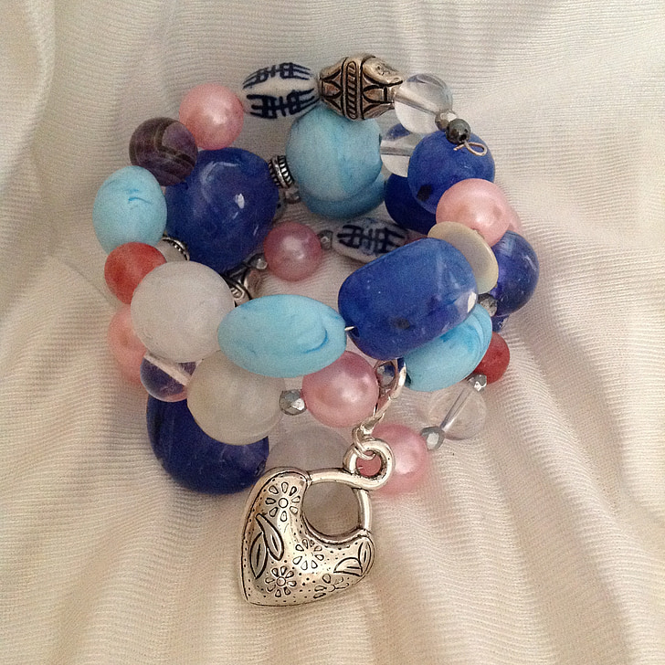bracelet, boho, sleeping fairy