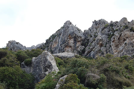 mountain landscape, pollença, mountains