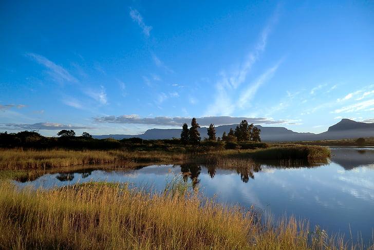África do Sul, Montanhas Drakensberg, Norte, Mpumalanga, natureza, rocha, paisagem