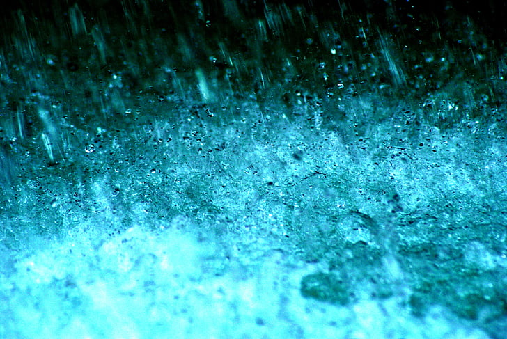 water, Bubbly, blauw, abstract, Wildwater, sluiten, waterkracht
