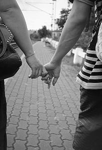holding hands, lovers, couple, love, couple holding hands, romantic, romance
