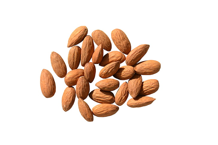 Mandel, Essen, Produkte, Muttern, Braun, nützlich, Nährstoffe