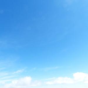 niebieski, niebo, biały, tło, chmury, Chmura - Niebo, tła