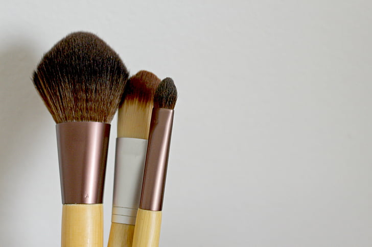 brush, cosmetic brush, wellness, ecologically, natural cosmetics, healthy, cosmetics