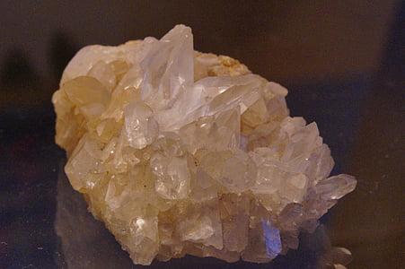 Rock crystal, pärl, kivi, Crystal, mineraal, nurk, Square