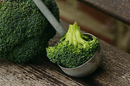 bròquil, verdures, Sa, cuinar, Nutrició, Frisch, vegà