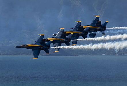 műrepülő, repülőgépek, légi show, repülőgépek, repülőgépek, légi közlekedés, repülés