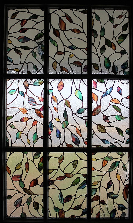 vidrieres, finestra, disseny, patró, Vitrall, vitralls, interior