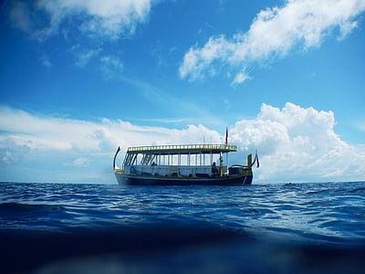 fartyg, Ocean, vatten, havet, båt, nautisk, Marine