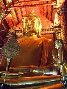 Taizeme, Buddha, Budisms, templis, Zelts, Āzija, kultūra