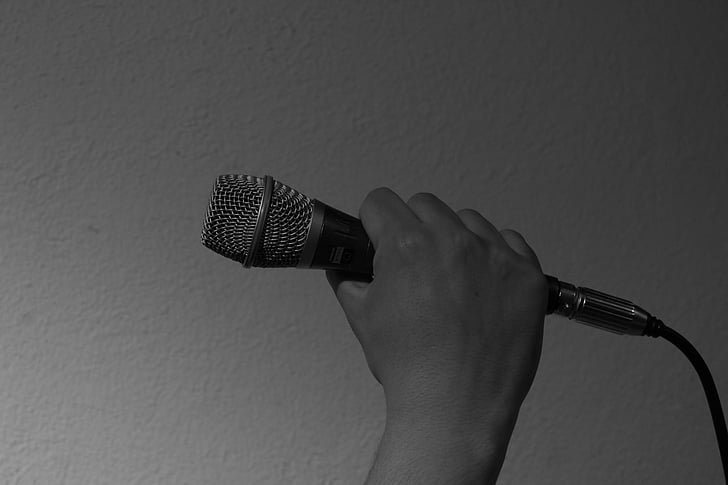 microphone, recording studio, music, singing, art