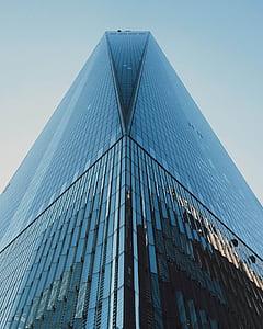 hoone, pilvelõhkuja, Tower, klaas, Urban, Office, kaasaegne