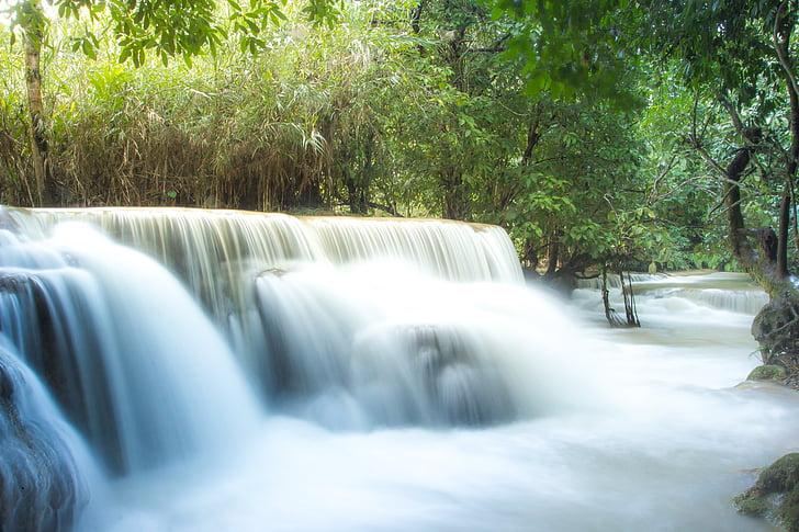 cascada de Guangxi, Laos