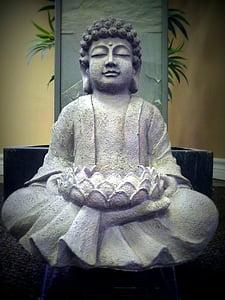 Buddha, Buddhismus, socha, meditace, meditovat, Thajsko, Asie