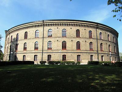 universitet, Göteborg, Sverige, Downtown, arkitektur, byggnader, Rotunda