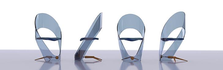 デザイン, 肘掛け椅子, 座席, ヨット