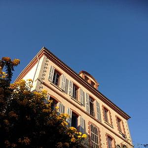 lill, hoone, endise, Prantsusmaa, Bormes-les-mimosas, Lõuna-Prantsusmaal, var