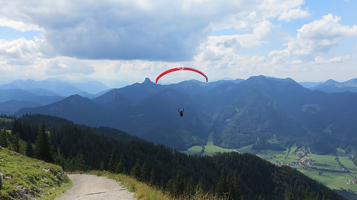 paraglider, paragliding, fly, dom, sport, extreme sports, air sports