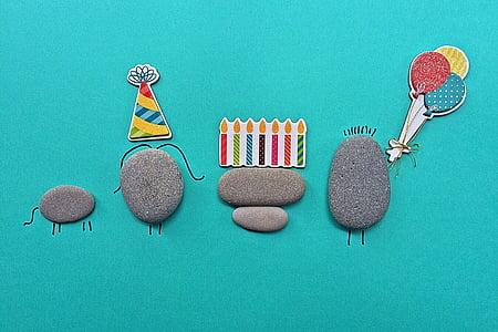 วันเกิด, ร็อค, ศิลปะ, งานฝีมือ