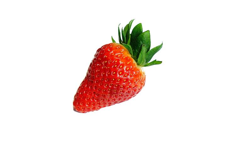 maduixa, fruita, deliciós, vermell, dolç, vitamines, Sa