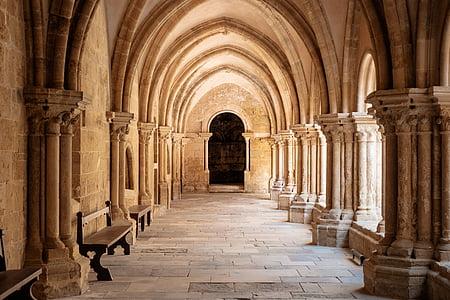 arquitectura, edifici, infraestructura, Portugal, punt de referència, passadís, viatges