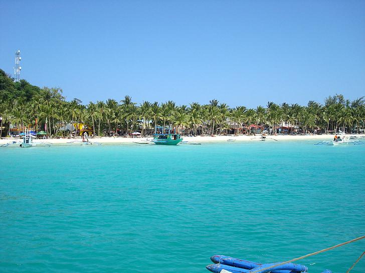 Boracay, Boracay beach, strand, zee, zonsondergang