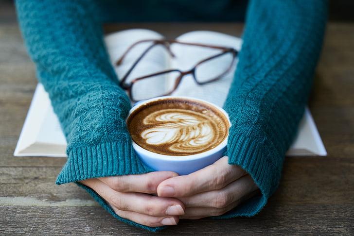 coffee, caffeine, eyewear, food photo, beverage, cup, coffee cup
